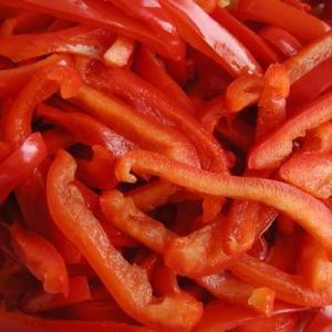 Gesneden Paprika Rood