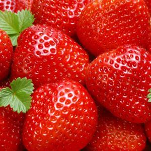 Aardbeien kleine doos